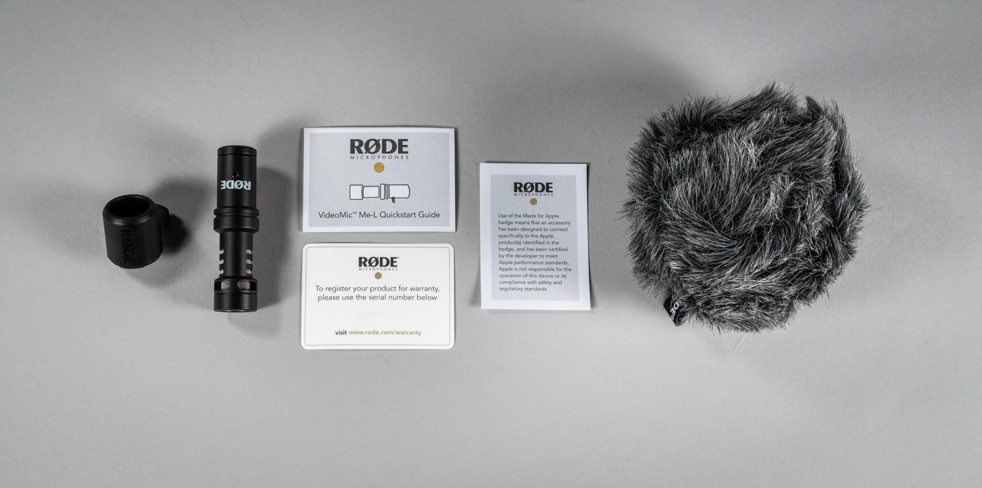 Rode VideoMic ME-L - Micro cho điện thoại Iphone - Hàng Chính Hãng