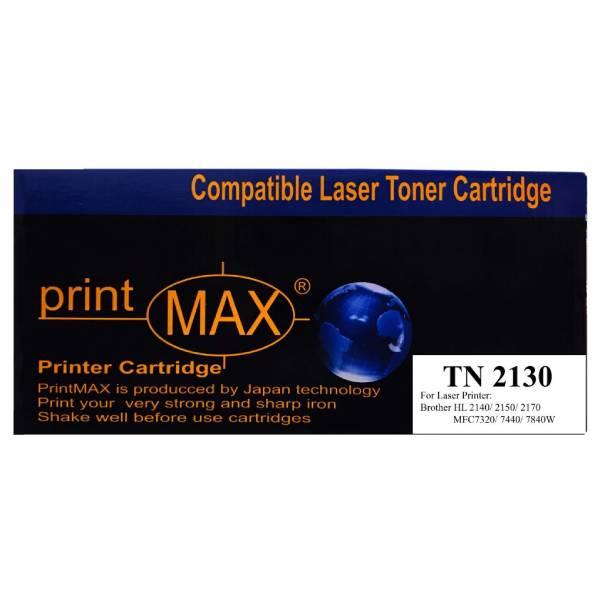 Hộp mực PrintMax dành cho máy in Brother TN 2130 - Hàng Chính Hãng