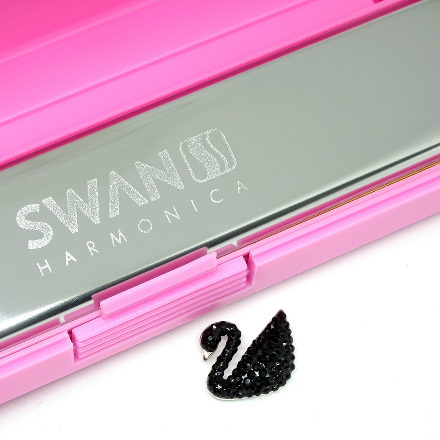 Kèn Harmonica Tremolo 24 lỗ Swan Inconceivable  SW24 Cơ Bản Key C
