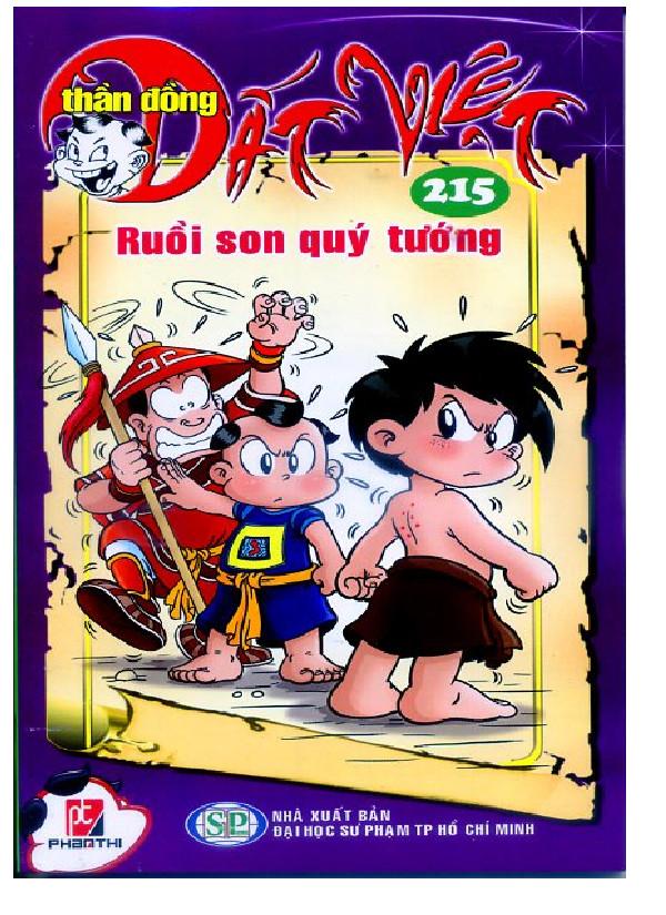 Bộ Truyện Tranh Thần Đồng Đất Việt (Tập 215 - 219)