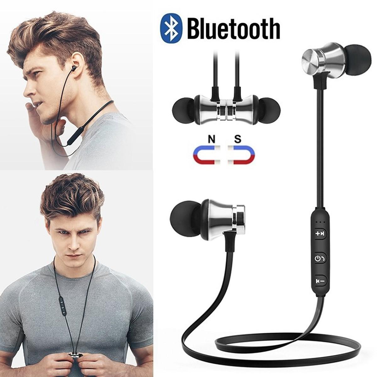 Tai Nghe Bluetooth Nhét Tai Có Dây XT-11+ Tặng Hộp Quẹt Bật Lửa Bay Mặt Ma Cao Cấp (Màu Ngẫu Nhiên)