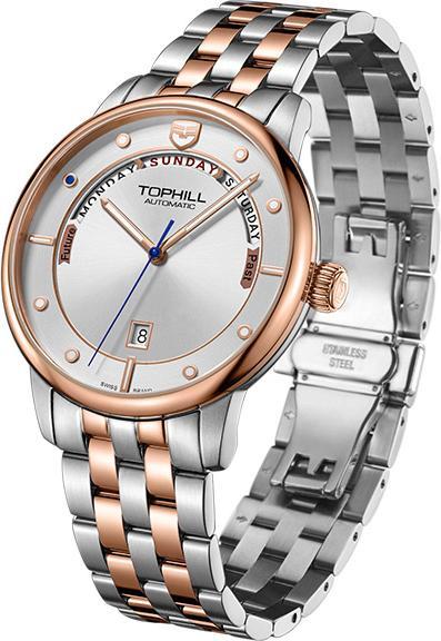 Đồng hồ nam máy cơ tự động chính hãng Thụy Sĩ TW071G.S7688