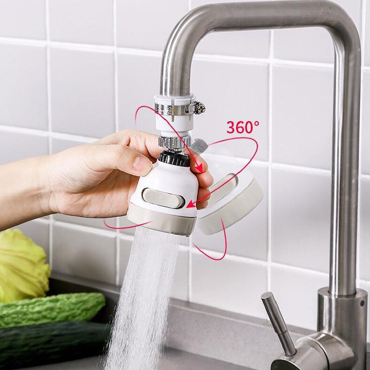 VÒI SEN TĂNG ÁP CAO CẤP CÓ NÚT TẮT MỞ DÒNG NƯỚC (Tặng kèm 1 đầu vòi siêu tiết kiệm nước xoay 360 độ)