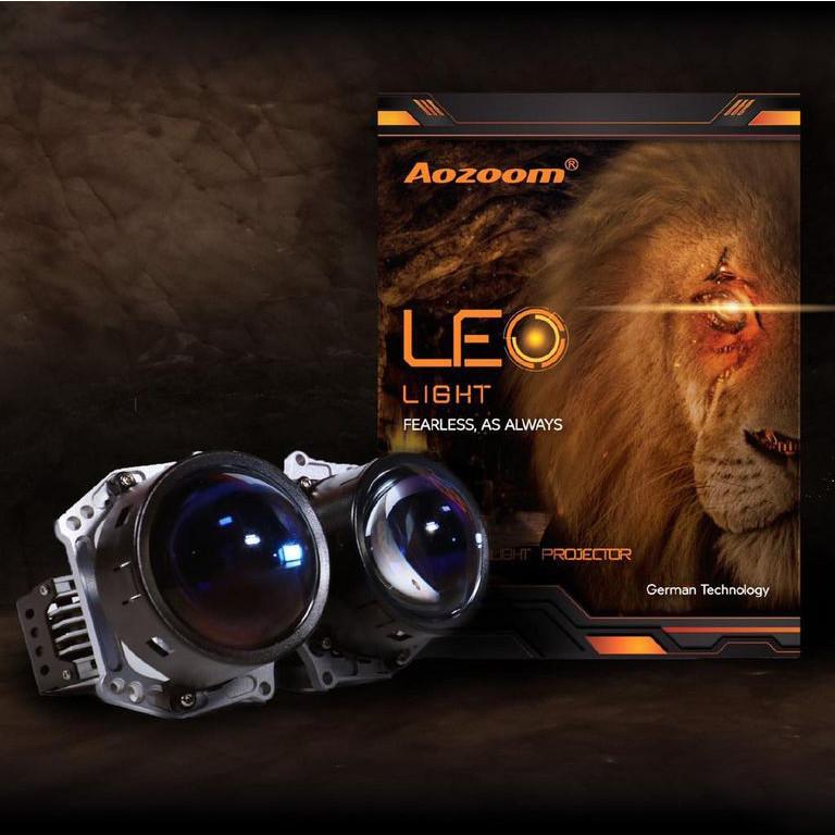 Bộ Đèn Bi Led AOZOOM LEO Light Chính Hãng , Đen Bi Led Pha Sư Tử Aozoom Siêu Sáng