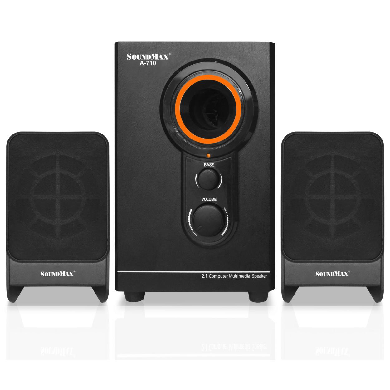 Loa SoundMax A710 (2.1) 20W - Hàng Chính Hãng