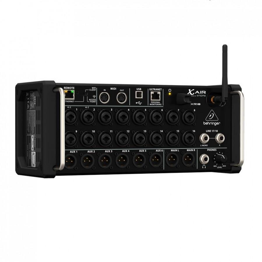 Behringer X Air XR18 18-Input Digital Mixer - Hàng Chính Hãng
