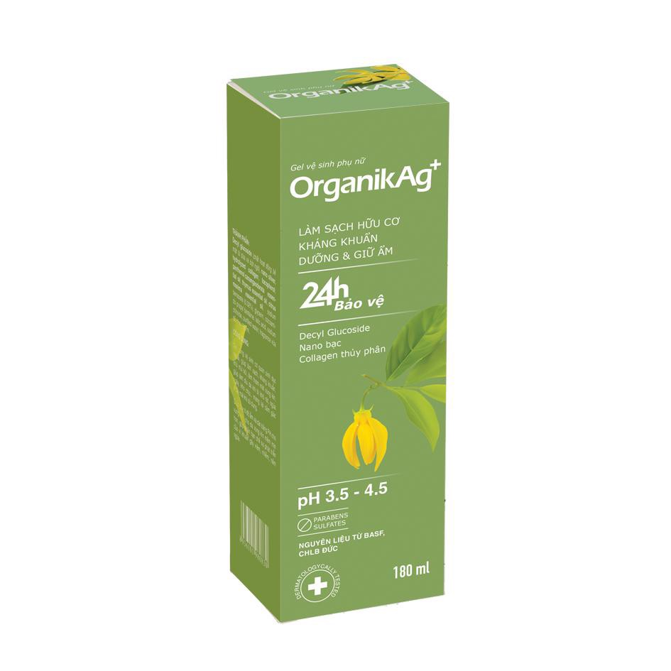 Gel vệ sinh phụ nữ OrganikAg+