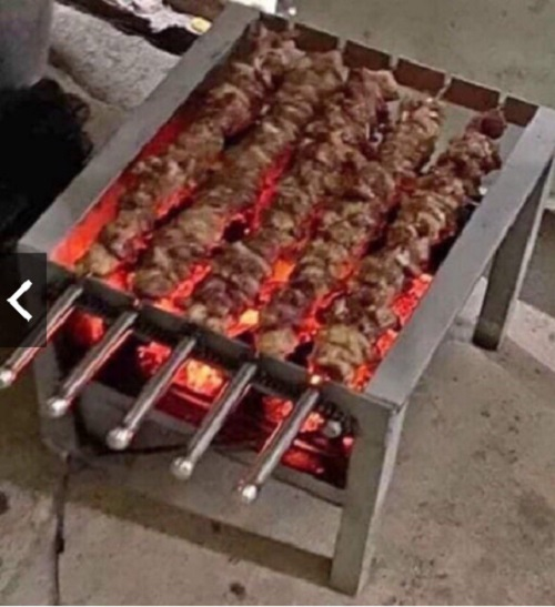 Bếp Nướng than hoa, gà, vịt, thịt thiết kế mới nướng tự động với công suất lớn hơn