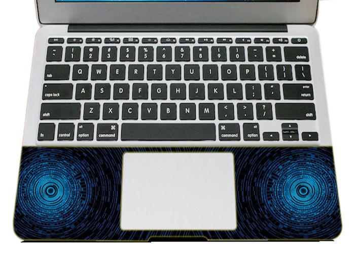 Mẫu Dán Trang Trí Laptop Hoa Văn LTHV - 326