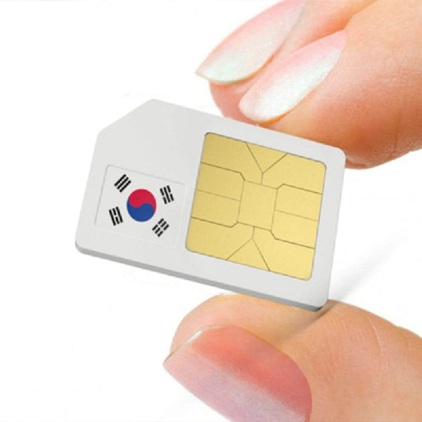 Sim du lịch Hàn Quốc - 7 ngày tốc độ 4G không giới hạn