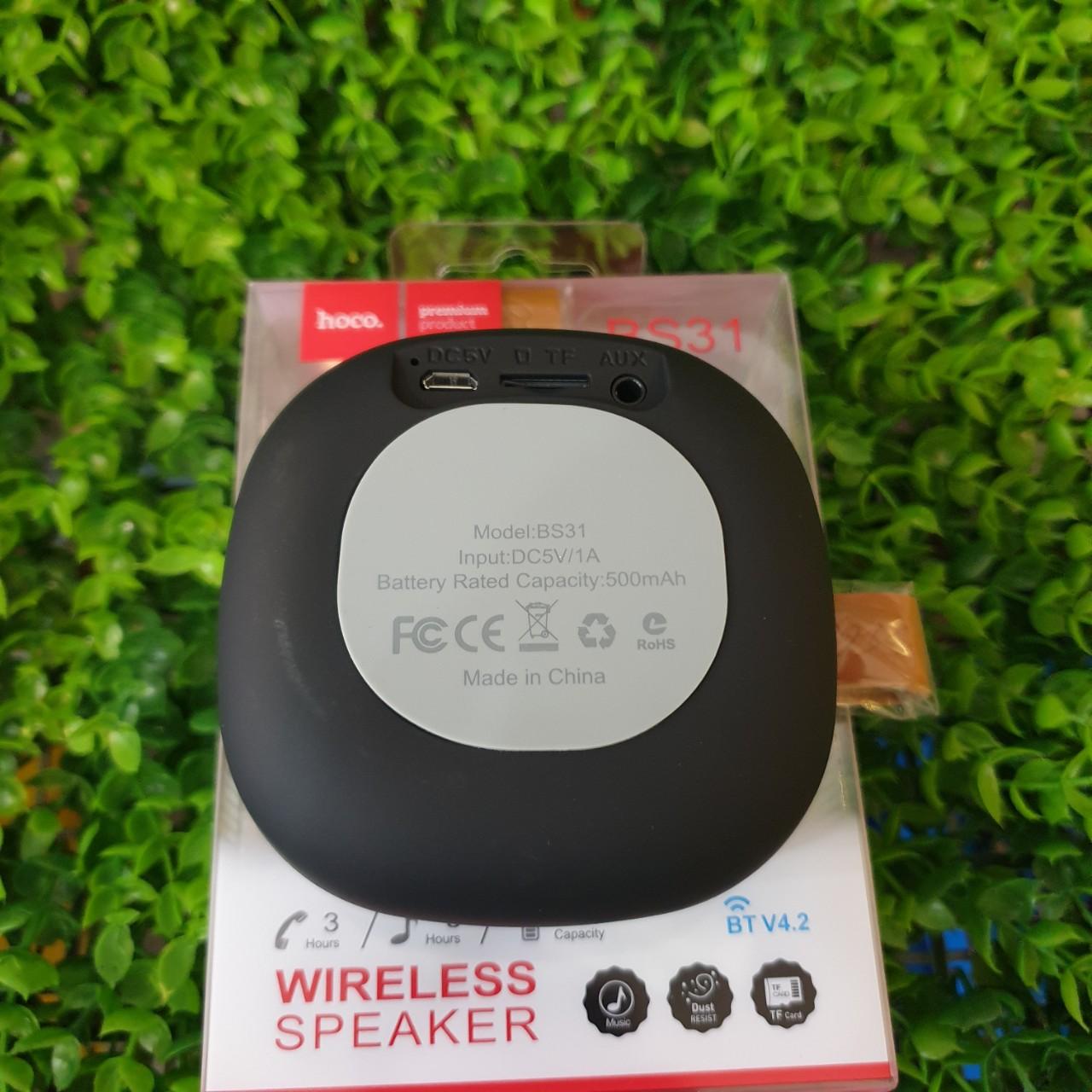 Loa Bluetooth Hoco BS31 Hàng Nhập Khẩu