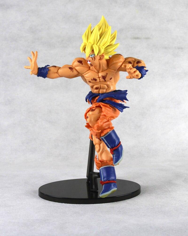 Mô Hình Son Goku Super Saiyan Scultures - Mẫu 2 ( Cao 22cm )