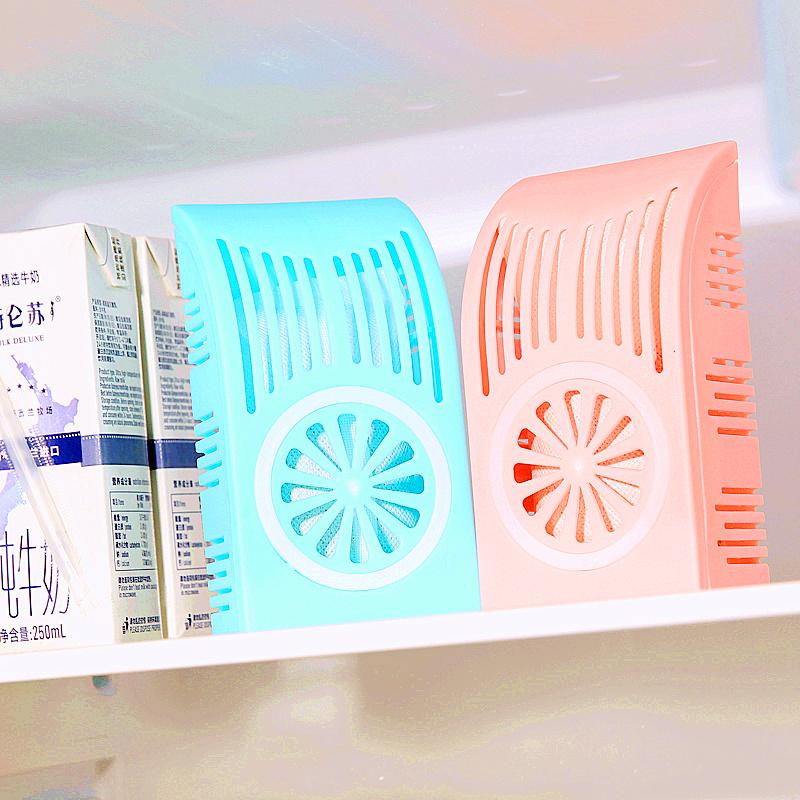 Hộp khử mùi cho tủ lạnh than hoạt tính (giao màu ngẫu nhiên)
