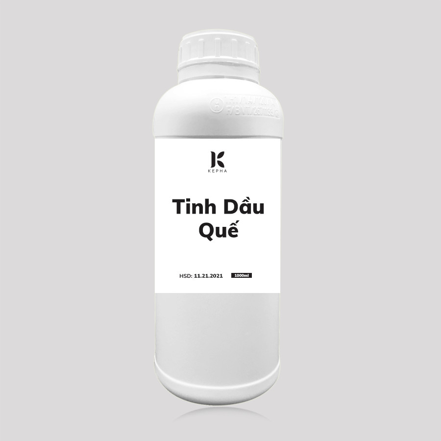 Tinh dầu Quế Kepha 1 lít - Cassia Essential oil - Nguyên chất 100% - Khử mùi, lau nhà, làm sạch không khí
