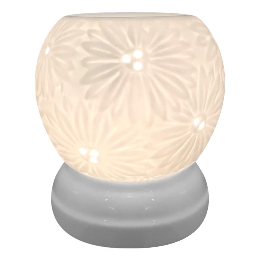 Đèn Xông Tinh Dầu Gốm MNB21 + Tặng Kèm 1 Bóng Đèn