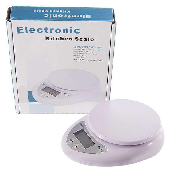 Cân tiểu ly điện tử 5kg để bàn nhà bếp màn hình LCD
