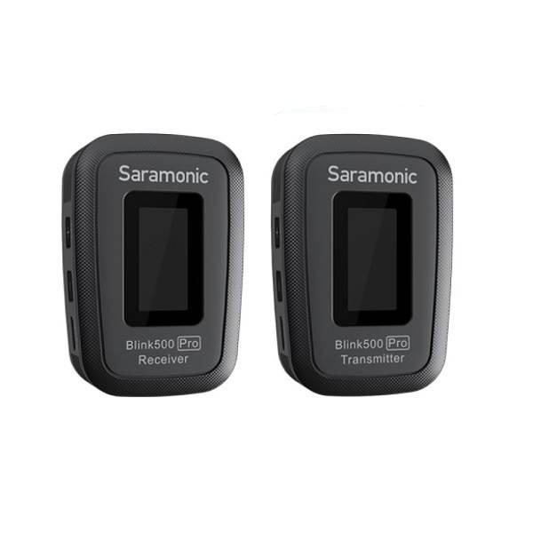 Micro thu âm không dây Saramonic Blink 500 Pro B1 (TX+RX) - Hàng Chính hãng