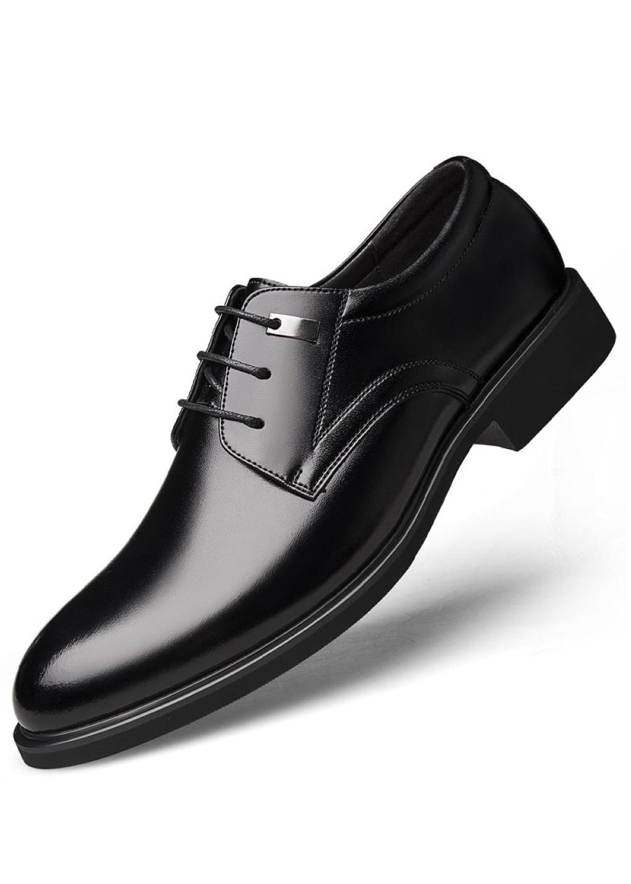 Giày da công sở big size, giày tây nam big size cỡ lớn 44 45 46 47 48 cho chân to - GT021