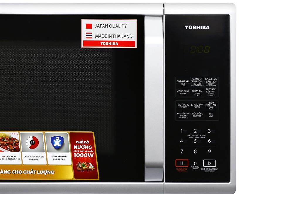 Lò vi sóng Toshiba ER-SGS23(S1)VN 23 lít - HÀNG CHÍNH HÃNG