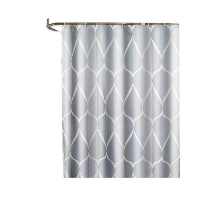 Rèm cửa chống nắng chống thấm nước - rèm nhà tắm họa tiết