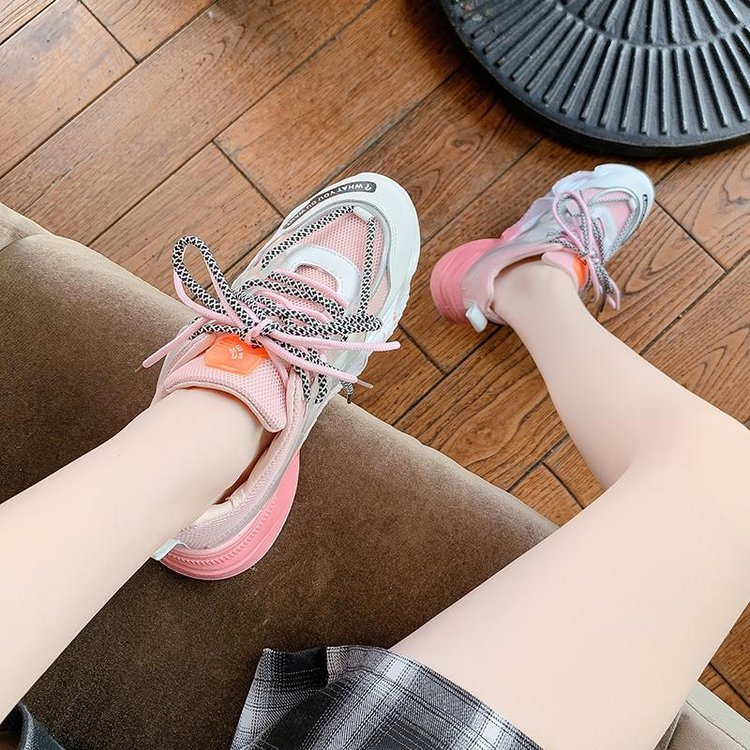 Giày Sneaker - Giày Thể Thao Nữ Nâng Chiều Cao, Êm Chân - 3 Màu Nổi Bật, Phối Rất Cá Tính - Hàng Cao Cấp - Đủ Size