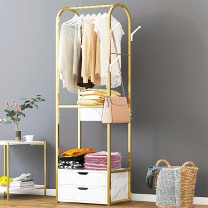 Giá treo quần áo đa năng, tủ treo quần áo, kệ treo quần áo MGK025