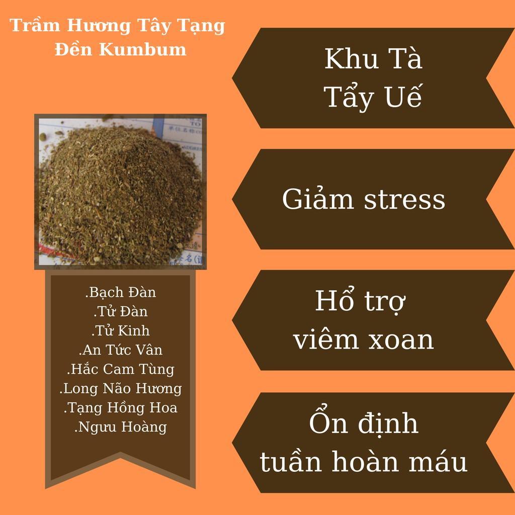 (15 gói) Bột Xông Tẩy Uế, Khu Tà, chính gốc tu viện Kumbum, dùng xông nhập trạch, ngày rằm, giỗ, ma chay, lúc bất an.