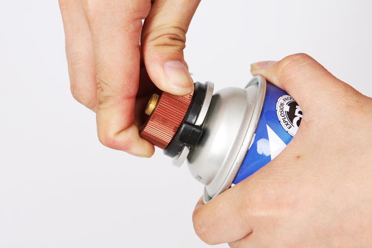 Bếp gas mini gấp gọn cắm trại dã ngoại leo núi tiện dụng - dùng được cho bình gas mini