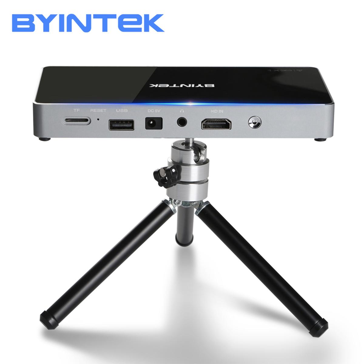 Máy chiếu Mini Thông Minh Byintek P10 siêu nhỏ gon hàng chính hãng