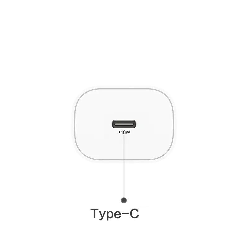 Sạc PISEN Quick Type-C Wall Charger (PD3.0/18W) - Hàng Chính Hãng