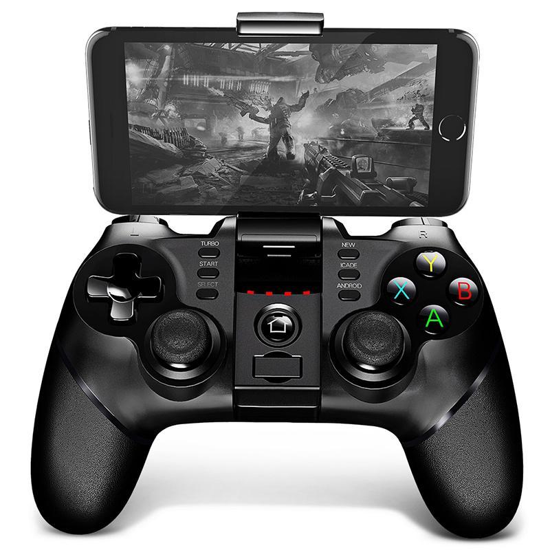 Tay Cầm Chơi Game Không Dây Bluetooth Ipega PG-9077 cho điện thoại di động Adroid Hàng nhập khẩu