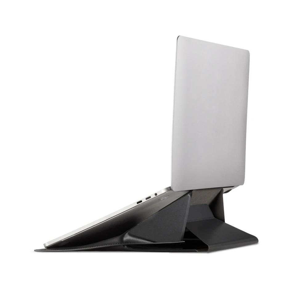 Túi Da Kiêm Giá Đỡ Biến Hình 3 Trong 1 Cho Laptop MOFT Carry Sleeve Size Vừa 13.3inch - MB002-1-13B-BN - Hàng Chính Hãng