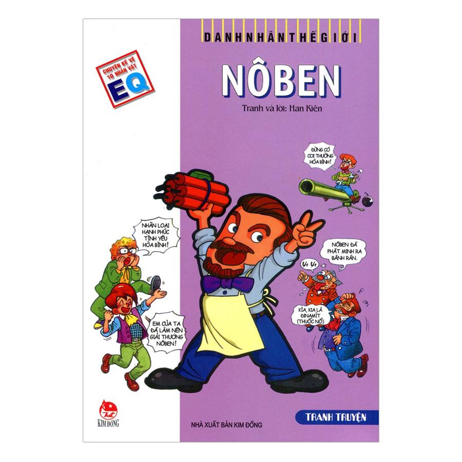 Danh Nhân Thế Giới: Nôben (Tái Bản 2019)