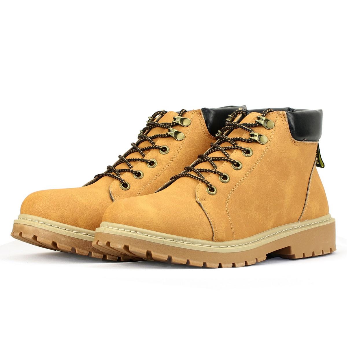 Giày Boots Cổ Cao Phong Cách Thời Trang BCC004 Nam Màu Nâu