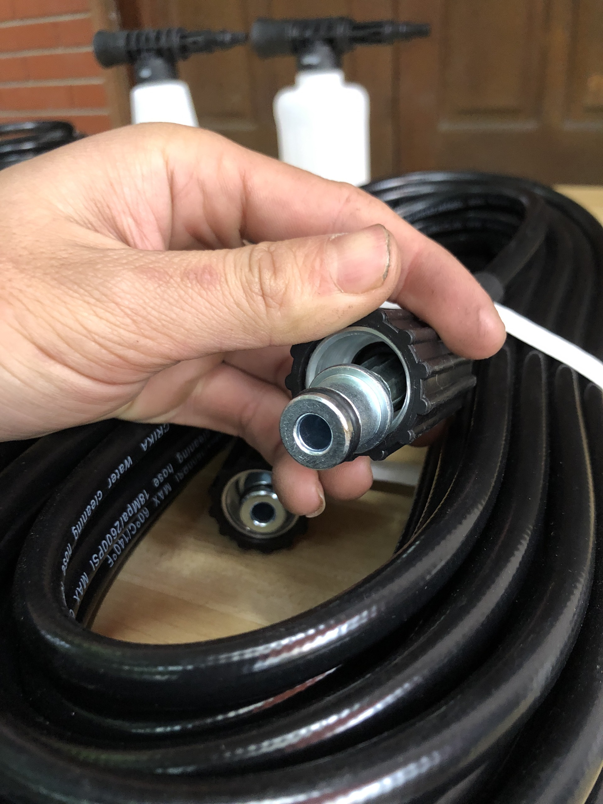 Dây 20m chịu áp lực cao dành cho máy rửa xe dài