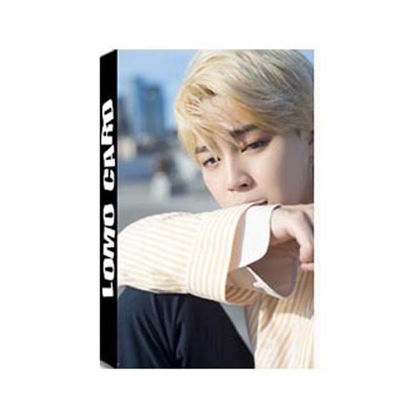 Lomo BTs jimin 30 ảnh (8 mẫu) hộp ảnh lomo nhóm nhạc Hàn quốc