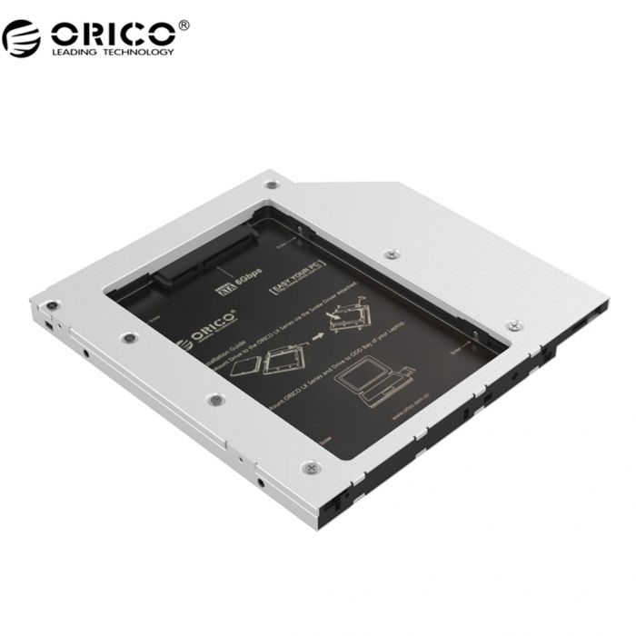 """Khay ổ cứng Laptop (Caddy bay) 2.5"""" SATA 1,2,3 - Orico L95SS - Hàng nhập khẩu"""