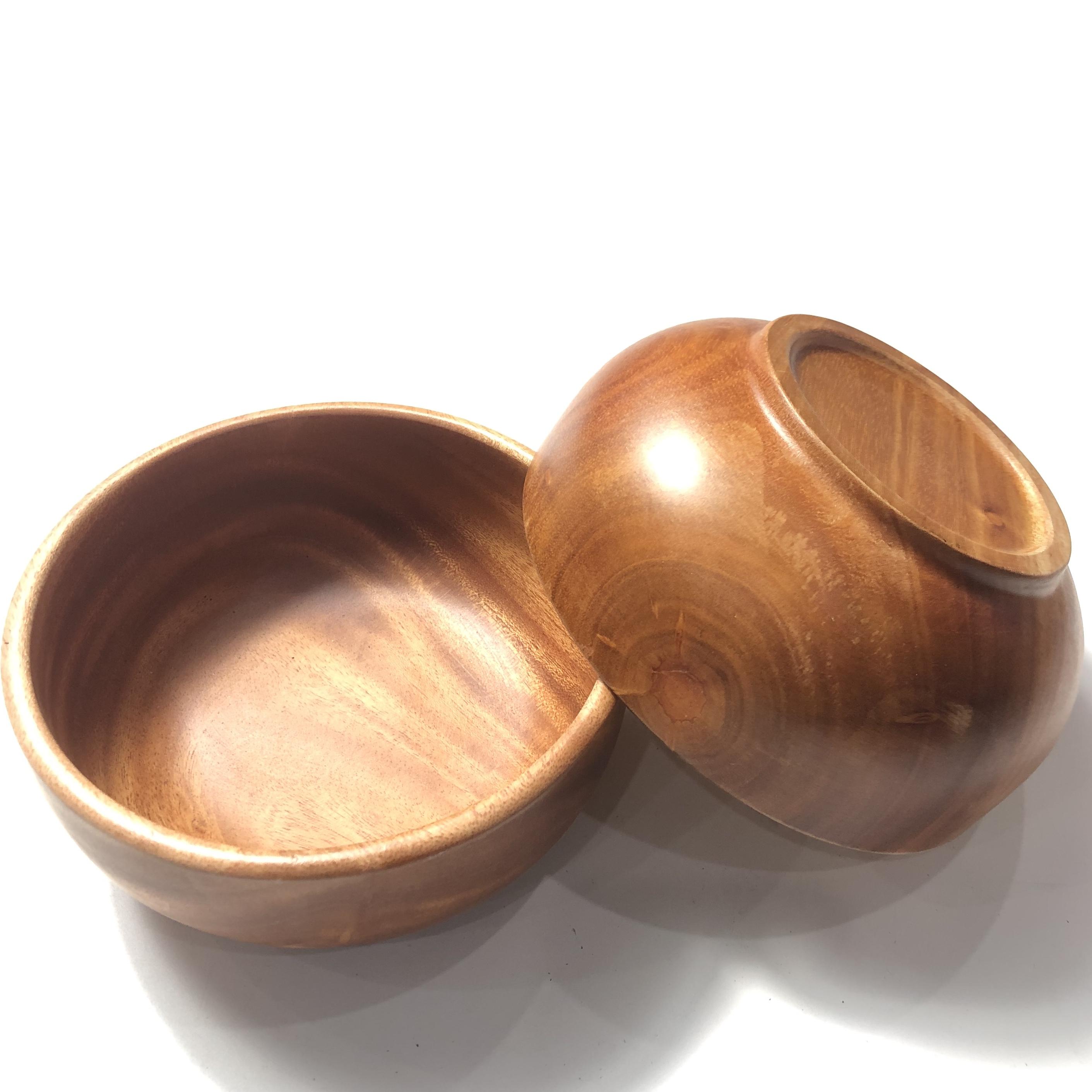 Tô gỗ xà cừ 15 cm