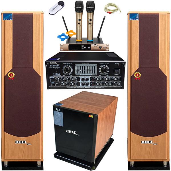 Bộ dàn karaoke SA - 999XP BellPlus (hàng chính hãng)