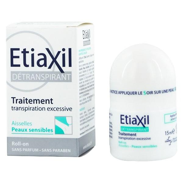 Combo Khử mùi hàng ngày dạng xịt phun sương 150ml và Lăn khử mùi ngăn mồ hôi cho da nhạy cảm (Màu xanh) Etiaxil + Tặng kèm 1 Khăn mặt cao cấp Etiaxil