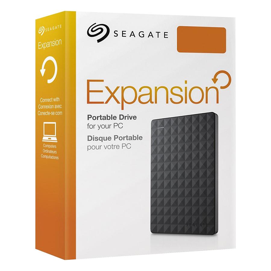 Box Ổ Cứng Di Động Seagate Expansion Chuẩn SATA III Hỗ Trợ Đến 6Gbps - Hàng Nhập Khẩu