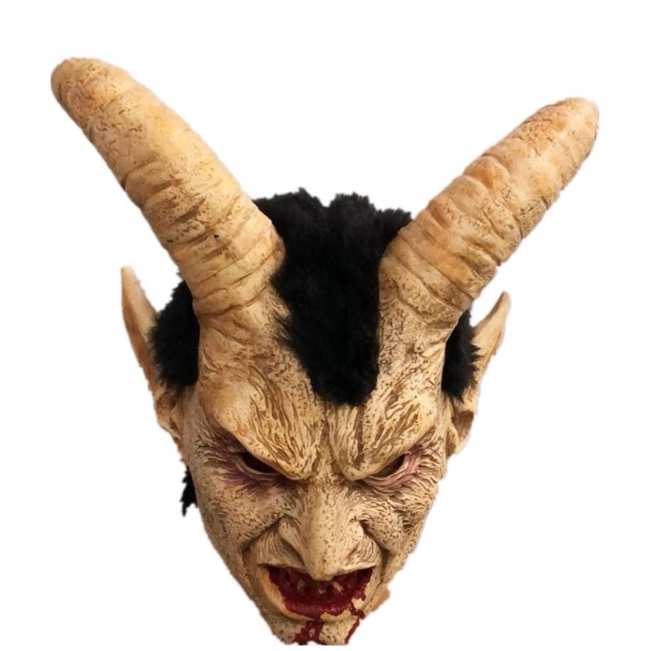 Mặt Nạ Hóa Trang Halloween Mặt Nạ Quỷ Sa Tăng Kinh Dị Bằng Cao Su Thiên Nhiên Thân Thiện Môi Trường