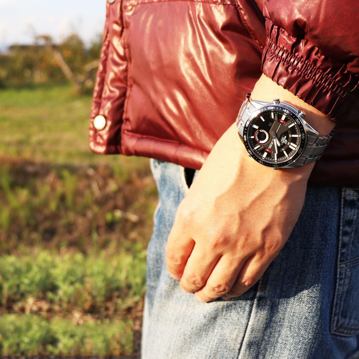 Đồng hồ nam dây kim loại Casio Edifice chính hãng EFV-C100D-1AVDF