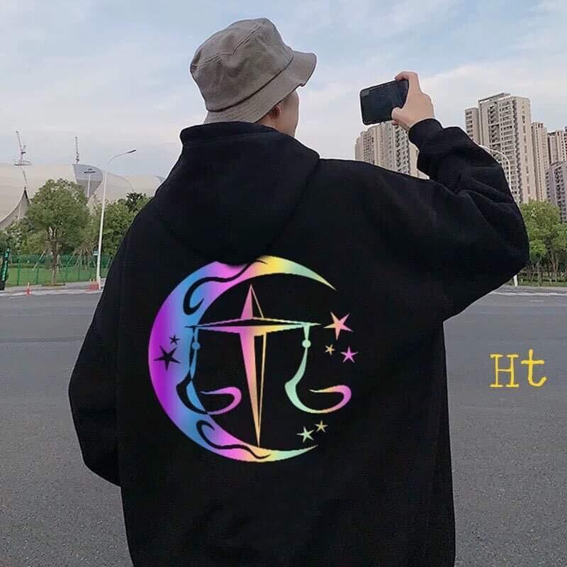 Áo hoodie dấu cộng phản quang HTH1120