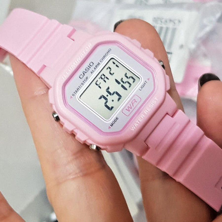 Đồng hồ nữ dây nhựa Casio LA-20WH-4A1DF