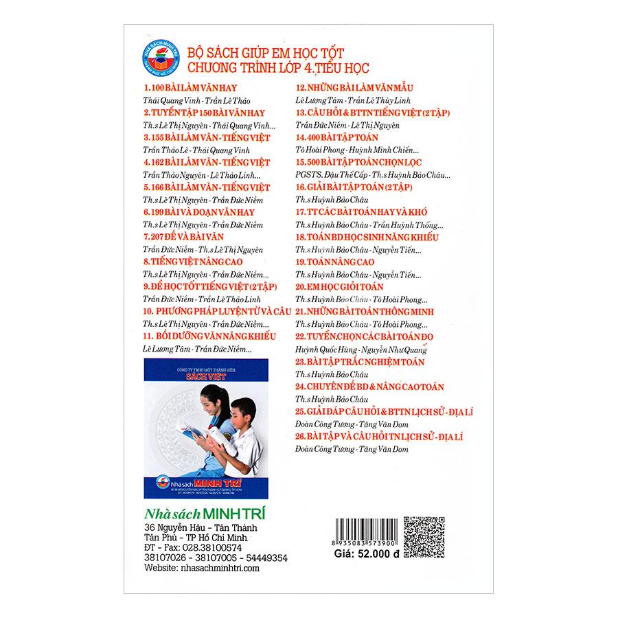 500 Bài Tập Toán Chọn Lọc Lớp 4 (Cơ Bản Và Nâng Cao)