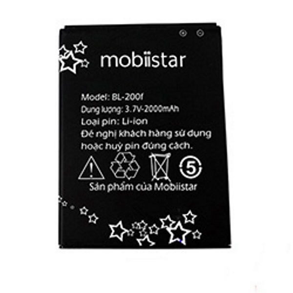 Pin cho điện thoại Mobiistar BL-200F - Hàng nhập khẩu