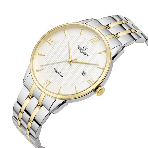 Đồng Hồ Nam SRwatch SG1071.1202TE - Sapphire - 40mm - Quartz (Pin) - Dây kim loại
