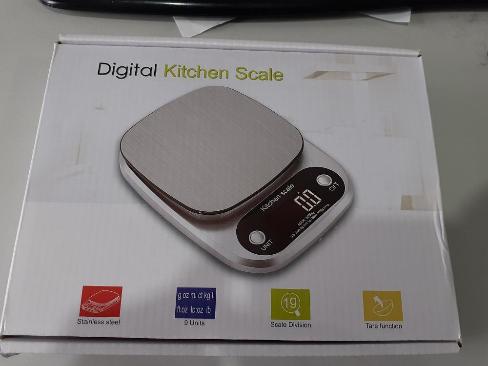 Cân điện tử thực phẩm dùng trong nhà bếp Eblance cân được từ 1g-10kg