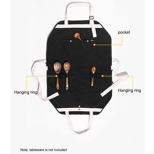 Tạp Dề Nấu Ăn Đa Năng Có Thể Sử Dụng Như Một Chiếc Túi Đựng Đồ Dã Ngoại Cắm Trại Naturehike NH20FS008